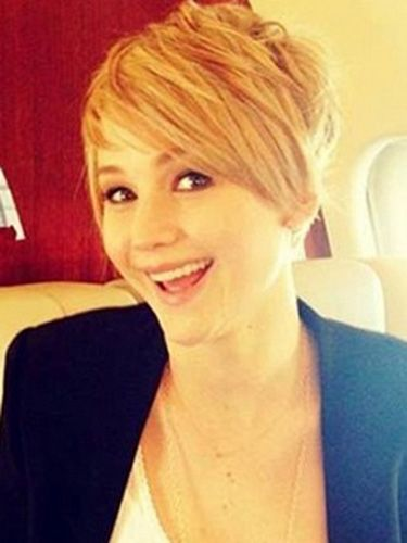 Jennifer Lawrence Short Hair How To Style Short Hair