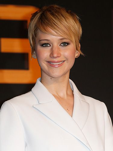Jennifer Lawrence Short Hair How To Style Short Hair