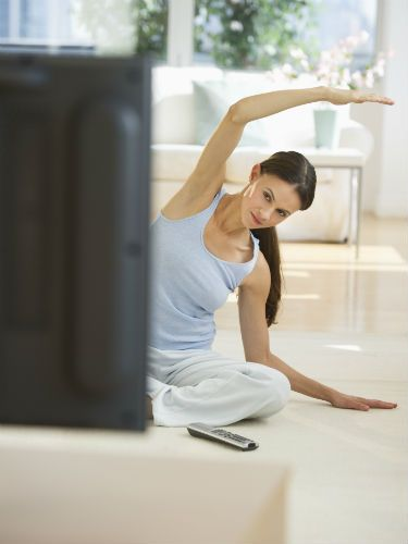 "<p><strong><em>John Williams, David Lloyd Leisure's expertise coach, says...</em></strong></p> <p>""Rather than slouching on the couch, get down on the floor and have a thorough stretch while watching your favourite shows. This will not only improve your flexibility but will go some way to lift your energy levels.""</p>"