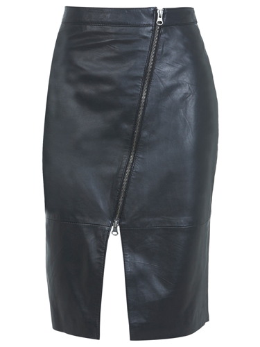 "<p>If you find sequin party dresses too twee, this leather pencil skirt with asymmetric zips is TOTALLY sexual. Pair with a cropped fluffy jumper and fishnets for a Debbie Harry meets (bad) Sandy from Grease sort of look.</p> <p>Leather pencil skirt, £80, <a href=""http://www.missselfridge.com/webapp/wcs/stores/servlet/ProductDisplay?beginIndex=0&viewAllFlag=&catalogId=33055&storeId=12554&productId=12867296&langId=-1&categoryId=&parent_category_rn=&searchTerm=MS26K01NBLK&resultCount=1&geoip=home"" target=""_blank"">missselfridge.com</a></p> <p><a href=""http://www.cosmopolitan.co.uk/fashion/shopping/cheap-christmas-party-dresses"" target=""_blank"">SHOP PARTY DRESSES FOR £25 OR LESS</a></p> <p><a href=""http://www.cosmopolitan.co.uk/fashion/shopping/christmas-party-best-flat-shoes"" target=""_blank"">12 FABULOUS FLATS TO DANCE ALL NIGHT IN</a></p> <p><a href=""http://www.cosmopolitan.co.uk/fashion/celebrity/"" target=""_blank"">GET CELEBRITY STYLE INSPIRATION</a></p>"