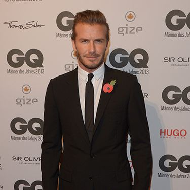 <p>David Beckham looking dapper on the red carpet is always a winner with us. Here he is suited and booted at the <span>GQ Men of the Year Awards in Berlin, where he picked up the most stylish man award, of course. </span></p>
