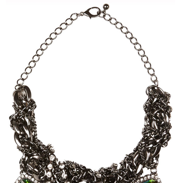 """<p>We like our jewels the way we like our cheese - CHUNKY. Work this season's gothic glam trend with this serious bit of bling.</p><p>Twisted chain necklace, £28, <a href=""""http://www.riverisland.com/women/jewellery/necklaces/Silver-tone-twisted-curb-chain-necklace-646555"""" target=""""_blank"""">riverisland.com</a></p><p><a href=""""http://www.cosmopolitan.co.uk/fashion/shopping/christmas-party-dress-2013-alternatives"""" target=""""_blank"""">Shop partywear looks beyond the LBD</a></p><p><a href=""""http://www.cosmopolitan.co.uk/fashion/shopping/black-ankle-boot-alternatives"""" target=""""_blank"""">Black ankle boot alternatives</a></p><p><a href=""""http://www.cosmopolitan.co.uk/fashion/news/"""" target=""""_blank"""">Get the latest fashion news</a></p><div style=""""overflow: hidden&#x3B; color: #000000&#x3B; background-color: #ffffff&#x3B; text-align: left&#x3B; text-decoration: none&#x3B;""""> </div>"""