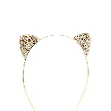 """<p class=""""p1"""">We're obsessed with these glitter cat ears that are too cute for adjectives. And with cash back from a fiver, they're a major bargain too.</p><p class=""""p1"""">Gold Glitter Cat Ears Alice Band, £3.99, <a href=""""http://www.newlook.com/shop/womens/jewellery-and-hair-accessories/gold-glitter-cat-ears-alice-band_294788693%20%20"""" target=""""_blank"""">newlook.com</a></p><p class=""""p1""""><a href=""""http://www.cosmopolitan.co.uk/fashion/shopping/cheap-christmas-party-dresses"""" target=""""_blank"""">PARTY DRESSES FOR £25 OR LESS</a></p><p class=""""p1""""><a href=""""http://www.cosmopolitan.co.uk/fashion/shopping/christmas-party-accessories-jewellery-bags"""" target=""""_blank"""">PARTY JEWELLERY TO COVET</a></p><p class=""""p1""""><a href=""""http://www.cosmopolitan.co.uk/fashion/shopping/christmas-party-high-heel-shoes"""" target=""""_blank"""">THE BEST PARTY HIGH HEELS</a></p>"""