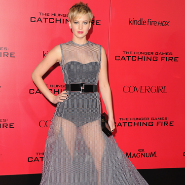 """<p>If, like Jennifer Lawrence, you're wearing a dress (perhaps not Dior) that is completely, all-over see through (and not just a casual sheer panel here and there), you'd best invest in a bustier body like our J-Law.Even better, make it shape wear to feel totally confident in your flimsy frock.</p><p>Or, if you need more coverage, go for a full-length slip in either a tonal shade or a completely contrasting colour.</p><p><em><strong>Try</strong>: Strapless shaping body, £44, <a href=""""http://www.figleaves.com/uk/product/FM-1256/Maidenform-EasyUp-Strapless-Shaping-Body/?size=&colour=Black"""" target=""""_blank"""">figleaves.com</a></em></p><p><a href=""""http://www.cosmopolitan.co.uk/fashion/celebrity/american-music-awards-2013-best-dressed"""" target=""""_blank"""">BEST-DRESSED CELEBS FROM THE AMAS 2013</a></p><p><a href=""""http://www.cosmopolitan.co.uk/fashion/celebrity/x-factor-outfits-2013"""" target=""""_blank"""">SEE: X FACTOR OUTFITS FROM THE LIVE SHOWS</a></p><p><a href=""""http://www.cosmopolitan.co.uk/fashion/news/"""" target=""""_blank"""">GET THE LATEST FASHION AND STYLE NEWS</a></p>"""