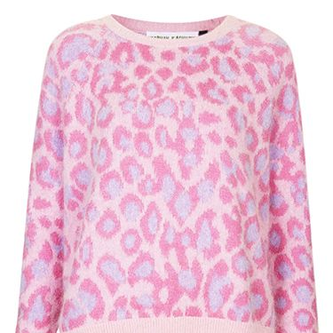"""<p>This jumper is like a trend explosion, featuring leopard print, pastels AND a fluffy texture. Oh and it's Meadham Kirchhoff, don't you know?</p><p>Angora jumper, £95, <a href=""""http://www.topshop.com/webapp/wcs/stores/servlet/ProductDisplay?beginIndex=0&viewAllFlag=&catalogId=33057&storeId=12556&productId=12853775&langId=-1&categoryId=&parent_category_rn=&searchTerm=TS25M20FPNK&resultCount=1&geoip=home"""" target=""""_blank"""">topshop.com</a> </p><p><a href=""""http://www.hm.com/gb/product/18786?article=18786-A"""" target=""""_blank"""">ELLIE GOULDING'S FASHION FORWARD LOOKS</a></p><p><a href=""""http://www.cosmopolitan.co.uk/fashion/shopping/christmas-party-dresses-secret-shapewear"""" target=""""_blank"""">PARTY DRESSES WITH SECRET SHAPEWEAR</a></p><p><a href=""""http://www.cosmopolitan.co.uk/fashion/shopping/christmas-party-best-flat-shoes"""" target=""""_blank"""">12 FABULOUS FLATS</a></p>"""