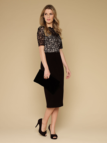 "<p>Ooh, we LOVE the sexy secreatry Mad Men-esque vibes of this fancy frock! The stretch jersey midi skirt has been partly lined with a silhouette smoothing slip to put a wiggle - not wibble - in your walk.</p> <p>Gina Lace Body Shaping Dress, £79, <a href=""http://uk.monsoon.co.uk/view/product/uk_catalog/mon_1,mon_1.2/4531900110"" target=""_blank"">monsoon.co.uk</a></p> <p><a href=""http://www.cosmopolitan.co.uk/fashion/celebrity/how-to-wear-sheer-dress"" target=""_blank"">CELEBS SHOW US HOW TO WEAR SHEER DRESSES</a></p> <p><a href=""http://www.cosmopolitan.co.uk/fashion/shopping/christmas-party-dress-2013-alternatives"" target=""_blank"">BEYOND THE LBD - PARTY DRESS ALTERNATIVES</a></p> <p><a href=""http://www.cosmopolitan.co.uk/fashion/news/"" target=""_blank"">GET THE LATEST FASHION AND STYLE NEWS</a></p>"