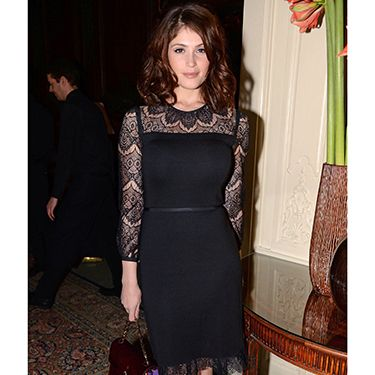 """<p>Gemma Arterton looked divine when she arrived at Tory Burch's dinner in London wearing a dress by...Tory Burch. Good way to please your host Gemma!</p><p><a href=""""http://www.cosmopolitan.co.uk/fashion/celebrity/little-mix-red-carpet-style-hacc"""" target=""""_blank"""">LITTLE MIX GIVE US WARDROBE ENVY</a></p><p><a href=""""http://www.cosmopolitan.co.uk/fashion/celebrity/how-to-wear-sheer-dress"""" target=""""_blank"""">CELEBS IN SHEER DRESSES</a></p><p><a href=""""http://www.cosmopolitan.co.uk/fashion/celebrity/x-factor-outfits-2013"""" target=""""_blank"""">ALL THE X FACTOR OUTFITS</a></p>"""