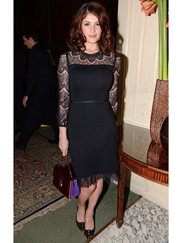 "<p>Gemma Arterton looked divine when she arrived at Tory Burch's dinner in London wearing a dress by...Tory Burch. Good way to please your host Gemma!</p> <p><a href=""http://www.cosmopolitan.co.uk/fashion/celebrity/little-mix-red-carpet-style-hacc"" target=""_blank"">LITTLE MIX GIVE US WARDROBE ENVY</a></p> <p><a href=""http://www.cosmopolitan.co.uk/fashion/celebrity/how-to-wear-sheer-dress"" target=""_blank"">CELEBS IN SHEER DRESSES</a></p> <p><a href=""http://www.cosmopolitan.co.uk/fashion/celebrity/x-factor-outfits-2013"" target=""_blank"">ALL THE X FACTOR OUTFITS</a></p>"