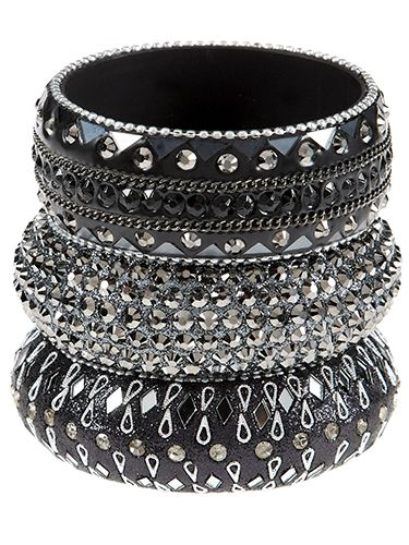 """<p>A wise man once had it that three is in fact a magic number, and that certainly seems to be the case taking these fabulous bracelets as evidence.</p> <p>Gem bangles, £5, Primark </p> <p><a href=""""http://www.cosmopolitan.co.uk/fashion/shopping/cheap-christmas-party-dresses"""" target=""""_blank"""">PARTY DRESSES FOR £25 OR LESS</a></p> <p><a href=""""http://www.cosmopolitan.co.uk/fashion/shopping/christmas-party-accessories-jewellery-bags"""" target=""""_blank"""">40 AMAZING PARTY ACCESSORIES</a></p> <p><a href=""""http://www.cosmopolitan.co.uk/fashion/shopping/winter-coats-less-than-50-pounds"""" target=""""_blank"""">WINTER COATS UNDER £50</a></p>"""