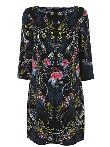 "<p>This fancy floral dress is a beaut! A step up from your regular LBD, with the folk-inspired design, long sleeves and loose fit it will be your go-to dress come party season.</p> <p>Floral tunic dress, £40, <a href=""http://www.warehouse.co.uk/floral-tunic-dress/all/warehouse/fcp-product/4453079699"" target=""_blank"">warehouse.co.uk</a></p> <p><a href=""http://www.cosmopolitan.co.uk/fashion/shopping/christmas-party-dress-2013-alternatives"" target=""_blank"">Shop partywear looks beyond the LBD</a></p> <p><a href=""http://www.cosmopolitan.co.uk/fashion/shopping/sequin-dress-black-gold"" target=""_blank"">8 ways to wear sequins</a></p> <p><a href=""http://www.cosmopolitan.co.uk/fashion/news/"" target=""_blank"">Get the latest fashion news</a></p>"