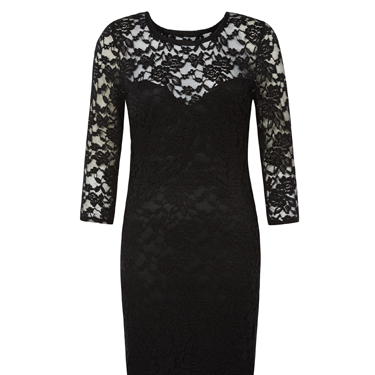 <p>You can't go wrong with the classic LBD, and this sexy lace midi is sure to put a wiggle in your walk (without a dent in your bank balance).</p>