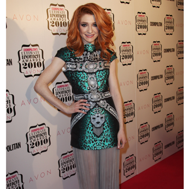 """<p>Nicola Roberts stepped onto the Cosmos 2010 red carpet in this oriental-inspired printed dress and was later crowned Ultimate Fashionista.</p><p><a href=""""http://www.cosmopolitan.co.uk/celebs/entertainment/cosmopolitan-ultimate-women-of-the-year-awards-2012-sponsored-by-vo5-real-women-video"""" target=""""_blank"""">Cosmo's Ultimate Women of the Year Awards 2012 </a></p><p><a href=""""http://www.cosmopolitan.co.uk/celebs/ultimate-women-of-the-year/design-cover-finalists"""" target=""""_blank"""">Design Cosmo's Cover competition: The finalists are revealed...</a></p><p><a href=""""http://www.cosmopolitan.co.uk/fashion/celebrity/"""" target=""""_blank"""">Get the latest celebrity style news</a></p>"""