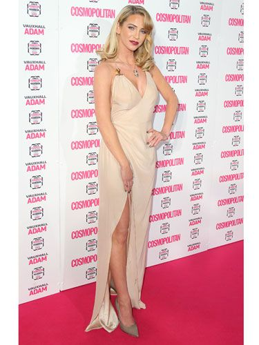"<p>Hollywood glamour and retro rolls. Couldn't love Sarah Harding's look more.<br /><br /><a href=""http://www.cosmopolitan.co.uk/celebs/ultimate-women-of-the-year/ultimate-women-awards-2013-live-blog"" target=""_blank"">GET IN ON ALL THE ACTION WITH OUR LIVE BLOG</a></p>"