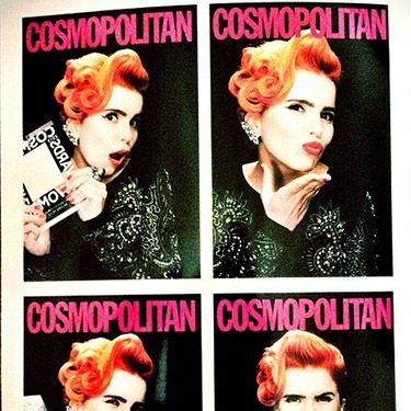 """<p>Paloma tweeted a picture of herself making the most of the photobooth, adding """"Thank you to Cosmopolitan magazine for the ultimate style award this evening"""". Well deserved!</p><p><a href=""""http://www.cosmopolitan.co.uk/celebs/ultimate-women-of-the-year/cosmo-girl-party-fashion"""" target=""""_blank"""">SEE COSMO'S PARTY STYLE</a></p><p><a href=""""http://www.cosmopolitan.co.uk/beauty-hair/news/trends/celebrity-beauty/cosmo-ultimate-women-awards-2013-celebrity-hairstyles-makeup"""" target=""""_blank"""">KILLER HAIR AND MAKE-UP LOOKS AT THE COSMO AWARDS</a></p><p><a href=""""http://www.cosmopolitan.co.uk/celebs/ultimate-women-of-the-year/winners-list-2013"""" target=""""_blank"""">THE COSMOS 2013: THE WINNERS</a></p>"""