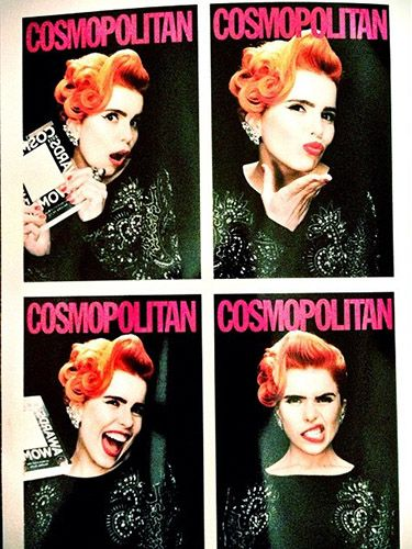 "<p>Paloma tweeted a picture of herself making the most of the photobooth, adding ""Thank you to Cosmopolitan magazine for the ultimate style award this evening"". Well deserved!</p> <p><a href=""http://www.cosmopolitan.co.uk/celebs/ultimate-women-of-the-year/cosmo-girl-party-fashion"" target=""_blank"">SEE COSMO'S PARTY STYLE</a></p> <p><a href=""http://www.cosmopolitan.co.uk/beauty-hair/news/trends/celebrity-beauty/cosmo-ultimate-women-awards-2013-celebrity-hairstyles-makeup"" target=""_blank"">KILLER HAIR AND MAKE-UP LOOKS AT THE COSMO AWARDS</a></p> <p><a href=""http://www.cosmopolitan.co.uk/celebs/ultimate-women-of-the-year/winners-list-2013"" target=""_blank"">THE COSMOS 2013: THE WINNERS</a></p>"