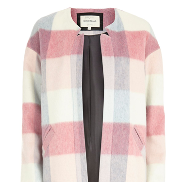<p>We're still crushing on muted check coats this season and as pastels are set to be a BIG fashion trend for spring 2014, we'll get loads of wear out of this beaut.</p>
