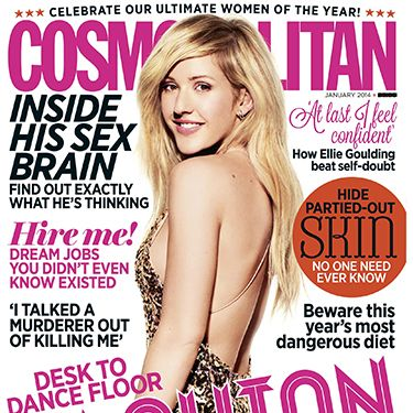 """<p>The talented and beautiful Ellie Goulding graces our cover this month, telling us why, despite having sold more than 13 million records, it's only now that her confidence has kicked in.</p><p>We'll also be revealing all Cosmo's Ultimate Women of the Year awards winners and why they were picked - well done to Ellie who scooped Ultimate Music Star 2013! </p><p>Also in this month's issue...</p><p><a href=""""http://www.cosmopolitan.co.uk/celebs/entertainment/ellie-goulding-january-cover-star-interview"""" target=""""_blank"""">COVER STAR ELLIE GOULDING'S INTERVIEW</a></p>"""