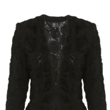 """<p>Rose appliqué jackets are perfect for throwing on over a party dress. This cropped and fitted black version from M&S is a nice cut and super flattering.</p><p>Rose applique jacket, £59, <a href=""""http://www.marksandspencer.com/Collection-Rose-Appliqu%C3%A9-Jacket/dp/B00DH600FO"""" target=""""_blank"""">M&S</a></p><p><a href=""""http://www.cosmopolitan.co.uk/fashion/news/rihanna-new-face-of-balmain"""" target=""""_blank"""">RIHANNA FOR BALMAIN</a></p><p><a href=""""http://www.cosmopolitan.co.uk/fashion/shopping/christmas-party-dresses-investment"""" target=""""_blank"""">TEN DREAMY PARTY DRESSES</a></p><p><a href=""""http://www.cosmopolitan.co.uk/fashion/news/which-party-dress-colour-works-best"""" target=""""_blank"""">THE BEST COLOURS TO PARTY IN</a></p><p> </p>"""