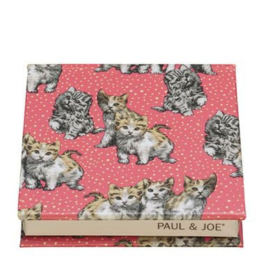 """<p>French fashion label Paul & Joe was founded by Sophie Albou. Sophie loves cats, as do 99.9% of the nation's grandmas (that's a made-up stat, but it's probably true). The new Paul & Joe Beauté spring colour collection doesn't disappoint on the feline front. Cute kittens… on a case… that can be used to customise any of the new Paul & Joe Beauté Eye Colour Trios. Purrrr-fect.</p><p><a href=""""http://www.harrods.com/brand/paul-and-joe-beaute"""">Paul & Joe Beaute Limited Edition Eye Colour Case, £7</a> (available from February) </p>"""