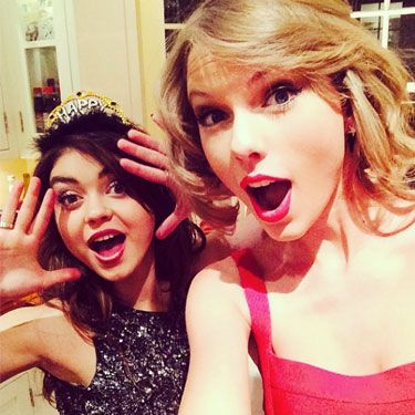 <p>Taylor Swift saw in the new year in typical T-Swizz style&#x3B; hanging out with her nearest and dearest at home. With tiaras.</p>