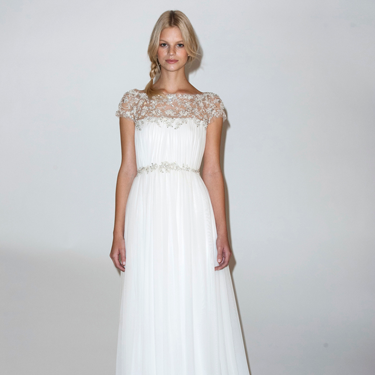 <p>Lace sleeves on wedding dresses are nothing new, ever since a certain Ms Middleton got hitched in Sarah Burton for McQueen, but lengths vary for summer 2014, ranging from full coverage through to cute caps.<em><br /></em></p>