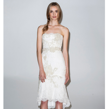 <p>While it may be your Big Day, you can dare to wear a LWD (Little White Dress) with hemlines on the rise for wedding dresses this summer. Perfect for a chic city ceremony.<em><br /></em></p>