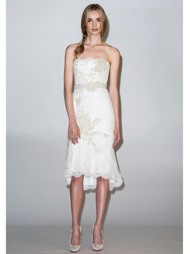 "<p>While it may be your Big Day, you can dare to wear a LWD (Little White Dress) with hemlines on the rise for wedding dresses this summer. Perfect for a chic city ceremony.<em><br /></em></p> <p><em><< As seen at: <strong>Marchesa</strong></em></p> <p><a href=""http://www.cosmopolitan.co.uk/fashion/shopping/spring-fashion-trends-2014"" target=""_blank"">The BIG spring fashion trends for 2014</a></p> <p><a href=""http://www.cosmopolitan.co.uk/fashion/shopping/top-ten-wedding-dresses-on-film"" target=""_blank"">10 best wedding dresses from films</a></p> <p><a href=""http://www.cosmopolitan.co.uk/fashion/news/"" target=""_blank"">Get the latest fashion and style news</a><br /></p>"
