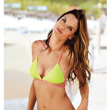 "<p>According to Angel Alessandra Ambrosio: ""You get really inspired, when you're there getting the beautiful tan and just looking over and viewing St. Tropez, what else do you need?"" Sunscreen, p'raps?</p>