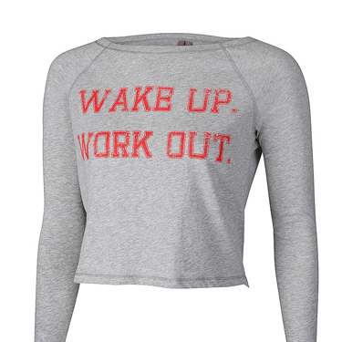 <p>Who needs a Personal Trainer, when you can have a bossy slogan sweater telling you what to do instead?</p>