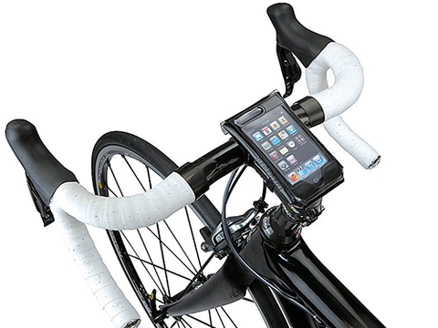 "<p>Are you one of those people who gets a bit freaked out if you can't see your mobile at all times? Then you might need one of these - a handy iPhone holder to mount your phone on the front of your bike. Make sure you stay aware of the road though! </p> <p>Drybag iPhone holder, £15.99, <a href=""http://www.halfords.com/webapp/wcs/stores/servlet/product_storeId_10001_catalogId_10151_productId_848373_langId_-1_categoryId_165643"" target=""_blank"">halfords.com</a></p> <p><a href=""http://www.halfords.com/webapp/wcs/stores/servlet/product_storeId_10001_catalogId_10151_productId_848373_langId_-1_categoryId_165643"" target=""_blank"">2014 FITNESS DVD REVIEWS</a></p> <p><a href=""http://www.cosmopolitan.co.uk/diet-fitness/fitness/20-week-cycle-training-plan-2771"" target=""_blank"">GET INTO CYCLING </a></p> <p><a href=""http://www.cosmopolitan.co.uk/diet-fitness/fitness/tampax-fitness-resolution-essentials"" target=""_blank"">HOW TO STICK TO YOUR NEW YEAR FITNESS RESOLUTIONS</a></p>"