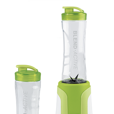 <p>How clever is this little bottle? It clips onto your blender at home so you can prepare protein shakes, smoothies or milkshakes, then you simply clip off and carry it to the gym. Genius!</p>