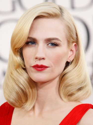 "<p>Looking like a strong, modern day Marilyn Monroe, January's power pair of statement brows and lips worked perfectly with her retro down-do.</p> <p><a href=""http://www.cosmopolitan.co.uk/beauty-hair/news/styles/celebrity/cosmo-hairstyle-of-the-day"" target=""_self"">COSMO'S HAIRSTYLE OF THE DAY</a></p> <p><a href=""http://www.cosmopolitan.co.uk/beauty-hair/news/styles/hair-trends-spring-summer-2014"" target=""_self"">THE HOTTEST HAIR TRENDS FOR 2014</a></p> <p><a href=""http://www.cosmopolitan.co.uk/beauty-hair/news/trends/celebrity-beauty/"" target=""_blank"">THE LATEST CELEBRITY BEAUTY NEWS</a></p>"