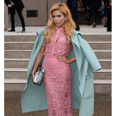"""<p>Paloma Faith looked like a delicous pile of French macaroons at the Burberry London Men's Collections show earlier this week, wearing what else? - head-to-toe Burberry. YUM. And FIERCE posing skills too.</p><p><a href=""""http://www.cosmopolitan.co.uk/fashion/love/"""" target=""""_blank"""">VOTE ON CELEBRITY STYLE</a></p><p><a href=""""http://www.cosmopolitan.co.uk/fashion/shopping/womens-clothing-under-ten-pounds"""" target=""""_blank"""">SHOP WOMEN'S FASHION FOR £10 OR LESS</a></p><p><a href=""""http://www.cosmopolitan.co.uk/fashion/celebrity/"""" target=""""_blank"""">SEE THE LATEST CELEBRITY TRENDS</a></p>"""