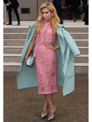 "<p>Paloma Faith looked like a delicous pile of French macaroons at the Burberry London Men's Collections show earlier this week, wearing what else? - head-to-toe Burberry. YUM. And FIERCE posing skills too.</p> <p><a href=""http://www.cosmopolitan.co.uk/fashion/love/"" target=""_blank"">VOTE ON CELEBRITY STYLE</a></p> <p><a href=""http://www.cosmopolitan.co.uk/fashion/shopping/womens-clothing-under-ten-pounds"" target=""_blank"">SHOP WOMEN'S FASHION FOR £10 OR LESS</a></p> <p><a href=""http://www.cosmopolitan.co.uk/fashion/celebrity/"" target=""_blank"">SEE THE LATEST CELEBRITY TRENDS</a></p>"