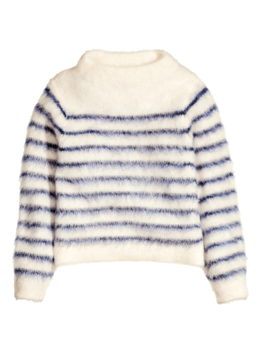 """<p>The classic Breton stripe jumper is brought bang up-to-date with this fun fluffy style.</p> <p>Fluffy stripe jumper, £34.99, <a href=""""http://www.hm.com/gb/product/22942?article=22942-A"""" target=""""_blank"""">hm.com</a></p> <p><a href=""""http://www.cosmopolitan.co.uk/fashion/shopping/primark-summer-fashion-trends-2014"""" target=""""_blank"""">Primark's spring fashion collection</a></p> <p><a href=""""http://www.cosmopolitan.co.uk/fashion/shopping/workout-clothes-stylish-women"""" target=""""_blank"""">Workout wear you'll WANT to wear</a></p> <p><a href=""""http://www.cosmopolitan.co.uk/fashion/news/"""" target=""""_blank"""">Get the latest fashion news</a></p>"""