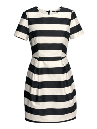 "<p><a href=""http://www.cosmopolitan.co.uk/fashion/shopping/spring-fashion-trends-2014?page=5"" target=""_blank"">Monochrome is the fashion trend</a> that keeps on giving, and it's set to stick around for spring 2014. This fat striped frock feels oh-so fresh, especially when paired with neon or silver.</p> <p>Monochrome stripe dress, £29.99, <a href=""http://www.hm.com/gb/product/23695?article=23695-A"" target=""_blank"">hm.com </a></p> <p><a href=""http://www.cosmopolitan.co.uk/fashion/shopping/spring-fashion-trends-2014"" target=""_blank"">THESE ARE THE BIG FASHION TRENDS FOR SPRING 2014</a></p> <p><a href=""http://www.cosmopolitan.co.uk/fashion/shopping/primark-summer-fashion-trends-2014"" target=""_blank"">PRIMARK'S SPRING FASHION RANGE IS REAL GOOD</a></p> <p><a href=""http://www.cosmopolitan.co.uk/fashion/news/"" target=""_blank"">GET THE LATEST FASHION AND STYLE NEWS</a></p>"