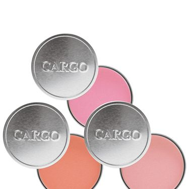 """<p><strong>THEY SAY: </strong>CARGO Water Resistant Blushes offers a stunning array of wearable, pretty and professional quality shades for a variety of skin tones. Imparts an effortless summer glow that stays put rain or shine.The longwearing formula withstands perspiration so you don't have to fuss with reapplication. Micronized light-diffusers work to ensure a gorgeously natural, non-shiny glow. Silky smooth texture that layer well for added intensity as desired.<strong></strong></p><p><strong>WE SAY: </strong>a really lovely colour and no worries about patchy cheekbones if you're running from appointment to appointment<strong></strong></p><p><strong>SCORE: 8/10</strong></p><p><strong>Cargo Cosmetics Water Resistant Blush, £19 <a href=""""http://www.debenhams.com"""" target=""""_blank"""">debenhams.com</a></strong></p><p><strong><br /></strong></p>"""