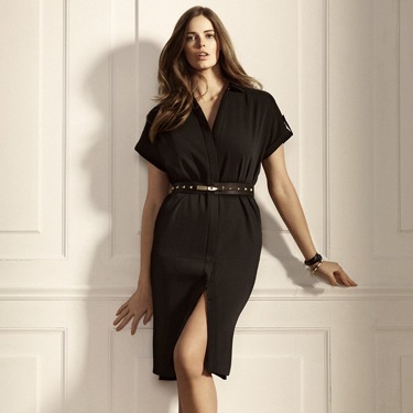 "<p>Draped dress, £69.99, <a href=""http://shop.mango.com/GB/p0/violeta/clothing/draped-dress/?id=21030073_02&n=1&s=prendas_violeta.tejanos&ident=0__0_0_1389890519149&ts=1389890519149"" target=""_blank"">mango.com</a></p>