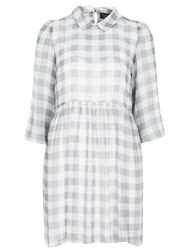 "<p>Check out this beaut! Our love for checks still grows strong, but the faded grey gingham on this style is spot on for spring. Lovely.</p> <p>Gingham smock dress, £48, <a href=""http://www.topshop.com/en/tsuk/product/new-in-this-week-2169932/gingham-is-in-2614955/crinkle-gingham-smock-dress-2583802"" target=""_blank"">topshop.com</a></p> <p><a href=""http://www.cosmopolitan.co.uk/fashion/shopping/primark-summer-fashion-trends-2014"" target=""_blank"">Primark's spring fashion collection</a></p> <p><a href=""http://www.cosmopolitan.co.uk/fashion/shopping/spring-fashion-trends-2014?page=1"" target=""_blank"">7 BIG spring fashion trends for 2014</a></p> <p><a href=""http://www.cosmopolitan.co.uk/fashion/news/"" target=""_blank"">Get the latest fashion news</a></p>"