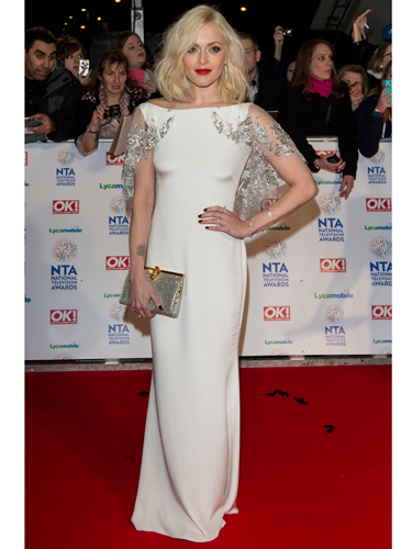 "<p>Fearne Cotton looked like a decadent vintage GODDESS at the NTAs, in her exquisite white SS14 Notte by Marchesa gown, complete with little beaded cape and matching beaded clutch. GO FEARNE.</p> <p><a href=""http://www.cosmopolitan.co.uk/fashion/celebrity/sag-awards-2014-best-dressed"" target=""_blank"">SAG AWARDS 2014: BEST DRESSED CELEBRITIES</a></p> <p><a href=""http://www.cosmopolitan.co.uk/fashion/celebrity/jennifer-lawrence-red-carpet-dresses"" target=""_blank"">JENNIFER LAWRENCE'S RED CARPET LOOKS 2014</a></p> <p><a href=""http://www.cosmopolitan.co.uk/fashion/love/"" target=""_blank"">VOTE ON CELEBRITY STYLE</a></p> <p> </p>"