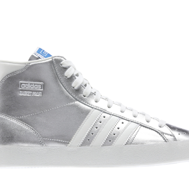 <p>Slam dunk da funk! Etc. These shiny silver beauts are the real deal. Wear with ripped skinnies or toughen up those girly dresses.</p>