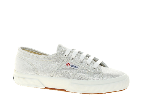 """<p>Superga are super cool, right? And these pimped-up plimmies are no exception. Shine on.</p> <p>Superga Classic Lamew Silver Plimsolls, £35 (from £50), <a href=""""http://www.asos.com/Superga/Superga-Classic-Lamew-Silver-Plimsolls/Prod/pgeproduct.aspx?iid=2726632"""" target=""""_blank"""">asos.com</a></p> <p><a href=""""http://cosmopolitan.co.uk/fashion/news/cara-delevingne-chanel-paris-wedding-dress?click=main_sr"""">Cara Delevingne wears Chanel wedding dress - and trainers! - at PFW</a></p> <p><a href=""""http://www.cosmopolitan.co.uk/celebs/entertainment/the-cara-delevingne-faces-book"""" target=""""_blank"""">The many funny faces of Cara Delevingne</a></p> <p><a href=""""http://www.cosmopolitan.co.uk/fashion/shopping/dress-spring-fashion-trends-2014"""" target=""""_blank"""">12 dresses that SCREAM spring</a></p>"""