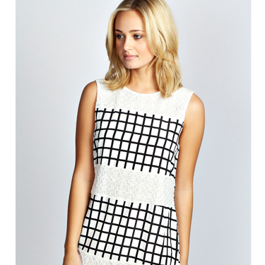 """<p>Your date will defo CHECK you out in this monochrome shift. Pair with ankle boots and a blazer for a smart look or switch in strappy heels and red lippy for added KAPOW.</p><p>Check print shirt dress, £20, <a href=""""http://www.boohoo.com/restofworld/clothing/new-in/icat/new-in/betsy-checked-print-lace-shift-dress/invt/azz38720"""" target=""""_blank"""">boohoo.com</a></p><p><a href=""""http://www.cosmopolitan.co.uk/fashion/shopping/date-outfit-dress-ideas"""" target=""""_blank"""">10 DREAMY DATE DRESSES SET TO IMPRESS</a></p><p><a href=""""http://www.cosmopolitan.co.uk/fashion/shopping/dress-spring-fashion-trends-2014"""" target=""""_blank"""">12 DRESSES THAT SCREAM SPRING</a></p><p><a href=""""http://www.cosmopolitan.co.uk/archive/fashion/shopping/new-in-store/0/8"""" target=""""_blank"""">WHAT TO WEAR THIS WEEK</a></p>"""