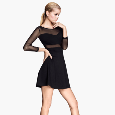 """<p>HELLO SEXY DRESS! We'd take tips from singer Lordes and Goth this up with a leather jacket, buckled boots and a dark lip. Or if you think that might scare your date, pair with heels and minimal gold jewellery.</p><p>Mesh dress, £12.99, <a href=""""http://www.hm.com/gb/product/25815?article=25815-A"""" target=""""_blank"""">hm.com</a></p><p><a href=""""http://www.cosmopolitan.co.uk/fashion/shopping/date-outfit-dress-ideas"""" target=""""_blank"""">10 DREAMY DATE DRESSES SET TO IMPRESS</a></p><p><a href=""""http://www.cosmopolitan.co.uk/fashion/shopping/dress-spring-fashion-trends-2014"""" target=""""_blank"""">12 DRESSES THAT SCREAM SPRING</a></p><p><a href=""""http://www.cosmopolitan.co.uk/archive/fashion/shopping/new-in-store/0/8"""" target=""""_blank"""">WHAT TO WEAR THIS WEEK</a></p>"""