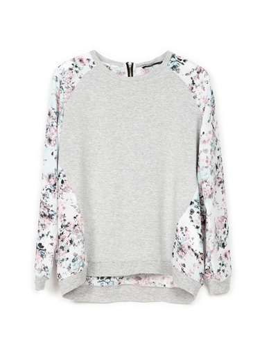 "<p>YES. With its flash floral mesh insert, this souped-up grey marl sweater is THE ONE. Wear with ripped jeans for an instant update.</p> <p>Floral sweatshirt, £19.99, <a href=""http://www.bershka.com/webapp/wcs/stores/servlet/product/bershkagb/en/bershkasales/706526/3784503/Bershka%2Bcombined%2Bfabric%2Bsweatshirt/801"" target=""_blank"">bershka.com</a></p> <p><a href=""http://www.cosmopolitan.co.uk/fashion/shopping/spring-fashion-trends-2014?page=1"" target=""_blank"">7 BIG spring fashion trends for 2014</a></p> <p><a href=""http://www.cosmopolitan.co.uk/fashion/shopping/date-dresses-womens-cheap-clothing"" target=""_blank"">SHOP date dresses for £20 or less</a></p> <p><a href=""http://www.cosmopolitan.co.uk/fashion/news/"" target=""_blank"">Get the latest fashion news</a></p> <div style=""overflow: hidden; color: #000000; background-color: #ffffff; text-align: left; text-decoration: none;""> </div>"
