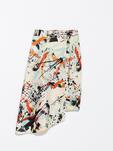 "<p>This season, we're all going back to art school (Prada said so) so while it may look like this skirt has been involved in an arty accident, that's EXACTLY the look you want. Right? RIGHT.</p> <p>Printed asymmetric skirt, £39.99, <a href=""http://www.zara.com/uk/en/woman/skirts/printed-asymmetric-skirt-c565317p1769520.html"" target=""_blank"">zara.com</a></p> <p><a href=""http://www.cosmopolitan.co.uk/fashion/shopping/spring-fashion-trends-2014?page=1"" target=""_blank"">7 BIG spring fashion trends for 2014</a></p> <p><a href=""http://www.cosmopolitan.co.uk/fashion/shopping/date-dresses-womens-cheap-clothing"" target=""_blank"">SHOP date dresses for £20 or less</a></p> <p><a href=""http://www.cosmopolitan.co.uk/fashion/news/"" target=""_blank"">Get the latest fashion news</a></p>"