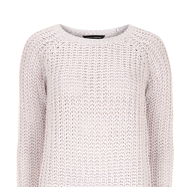 """<p>Pastels continue to be a big trend this spring, so keep cosy (and stylish) with this lilac knit. We'll be pairing ours with a leather skirt and ankle boots.</p><p>Lilac chunky jumper, £9, <a href=""""http://www.dorothyperkins.com/en/dpuk/product/sale-2652763/view-all-sale-1724247/lilac-chunky-rib-knit-jumper-2595343?refinements=Price%7b2%7d~%5b0%7c10%5d%5eSize%7b1%7d~%5b8%5d&bi=1&ps=200"""" target=""""_blank"""">dorothyperkins.com</a></p><p><a href=""""http://www.cosmopolitan.co.uk/fashion/shopping/spring-fashion-trends-2014?page=1"""" target=""""_blank"""">7 BIG FASHION TRENDS FOR SPRING</a></p><p><a href=""""http://www.cosmopolitan.co.uk/fashion/shopping/chanel-couture-trainers-high-street"""" target=""""_blank"""">10 SOUPED-UP SNEAKERS</a></p><p><a href=""""http://www.cosmopolitan.co.uk/fashion/love/"""" target=""""_blank"""">LOVE IT OR LOATHE IT? CELEB FASHION</a></p>"""