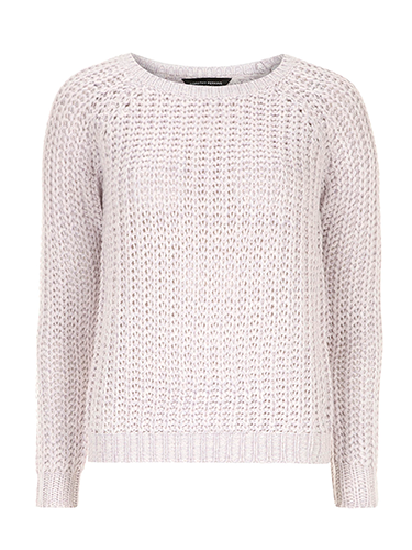 "<p>Pastels continue to be a big trend this spring, so keep cosy (and stylish) with this lilac knit. We'll be pairing ours with a leather skirt and ankle boots.</p> <p>Lilac chunky jumper, £9, <a href=""http://www.dorothyperkins.com/en/dpuk/product/sale-2652763/view-all-sale-1724247/lilac-chunky-rib-knit-jumper-2595343?refinements=Price%7b2%7d~%5b0%7c10%5d%5eSize%7b1%7d~%5b8%5d&bi=1&ps=200"" target=""_blank"">dorothyperkins.com</a></p> <p><a href=""http://www.cosmopolitan.co.uk/fashion/shopping/spring-fashion-trends-2014?page=1"" target=""_blank"">7 BIG FASHION TRENDS FOR SPRING</a></p> <p><a href=""http://www.cosmopolitan.co.uk/fashion/shopping/chanel-couture-trainers-high-street"" target=""_blank"">10 SOUPED-UP SNEAKERS</a></p> <p><a href=""http://www.cosmopolitan.co.uk/fashion/love/"" target=""_blank"">LOVE IT OR LOATHE IT? CELEB FASHION</a></p>"