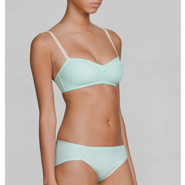 """<p>This is one fashion forward undergarm, ticking off both the pastel and sports luxe trends for spring. Now time to make like you're in a Calvin Klein ad from the 90s.</p><p>Mint padded bra, £25, <a href=""""http://www.stories.com/Lingerie/Bras/Mint_padded_bra/590329-3815399.1"""" target=""""_blank"""">stories.com</a></p><p><a href=""""http://www.cosmopolitan.co.uk/fashion/shopping/rosie-huntington-whiteley-valentines-lingerie?click=main_sr"""" target=""""_blank"""">ROSIE HUNTINGTON-WHITELEY'S PRETTY NEW LINGERIE</a></p><p><a href=""""http://www.cosmopolitan.co.uk/fashion/shopping/kelly-brook-valentines-lingerie-new-look"""" target=""""_blank"""">KELLY BROOK'S SEXY VALENTINE'S DAY LINGERIE</a></p><p><a href=""""http://www.cosmopolitan.co.uk/fashion/shopping/valentines-day-sexy-lingerie?click=main_sr"""" target=""""_blank"""">5 SEXY LINGERIE FINDS YOU'LL ACTUALLY WEAR</a></p>"""