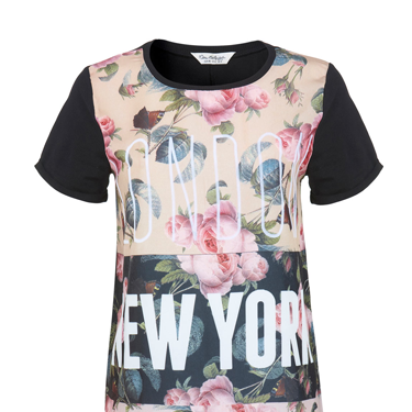 """<p>As the fashion week baton gets handed over from New York to London in a few days, thisT-shirt is ridic appropriate (and really rather pretty, too).</p><p>Floral London NY T-shirt, £25, <a href=""""http://www.missselfridge.com/webapp/wcs/stores/servlet/ProductDisplay?beginIndex=0&viewAllFlag=&catalogId=33055&storeId=12554&productId=13658128&langId=-1&categoryId=&parent_category_rn=&searchTerm=floral%20london%20ny%20tee&resultCount=1"""" target=""""_blank"""">missselfridge.com</a></p><p><a href=""""http://www.cosmopolitan.co.uk/fashion/shopping/spring-fashion-trends-2014?page=1"""" target=""""_blank"""">7 BIG FASHION TRENDS FOR SPRING 2014</a></p><p><a href=""""http://www.cosmopolitan.co.uk/fashion/shopping/chanel-couture-trainers-high-street"""" target=""""_blank"""">SHOP 10 SOUPED-UP SNEAKERS</a></p><p><a href=""""http://www.cosmopolitan.co.uk/fashion/shopping/date-dresses-curvy-girls"""" target=""""_blank"""">8 DATE DRESSES FOR CURVY GIRLS</a></p>"""
